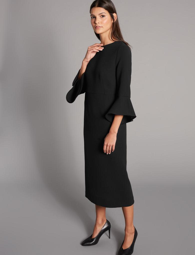 Bodycon Midi Elbise