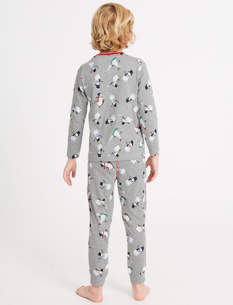 2'li Desenli Pijama Takımı (3 - 16 Yaş)
