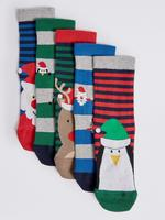5'li Pamuklu Çorap (12 Ay - 14 Yaş)
