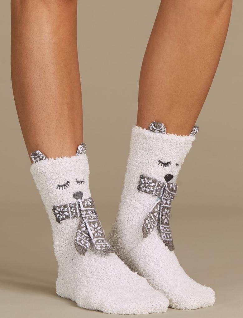 Yumuşak Ev Çorabı