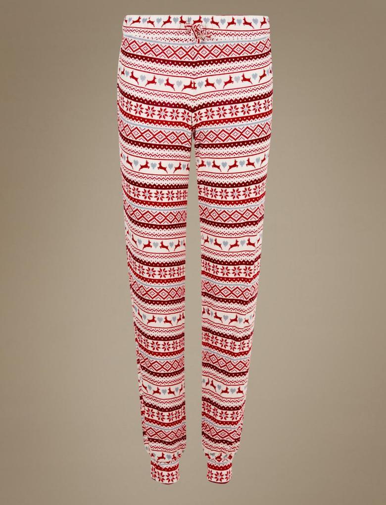 Fairisle Desenli Pijama Altı