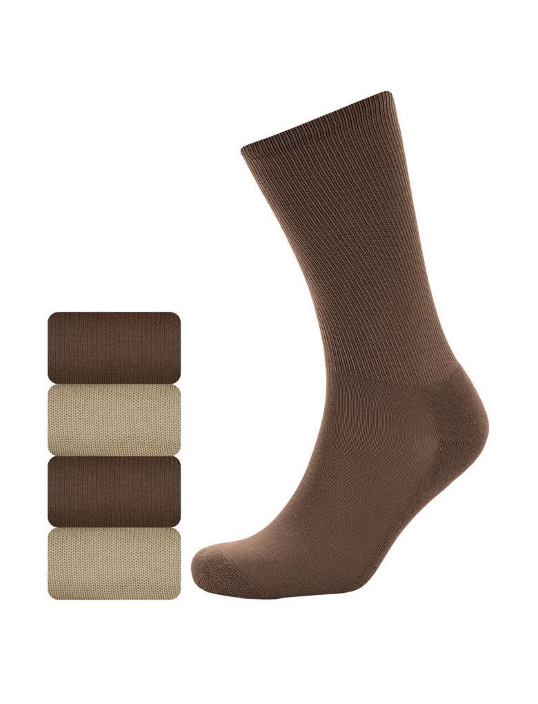 4'lü Pamuklu Çorap