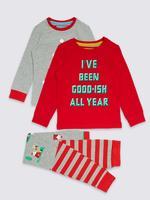 2'li Streç Pijama Takımı (9 Ay - 8 Yaş)