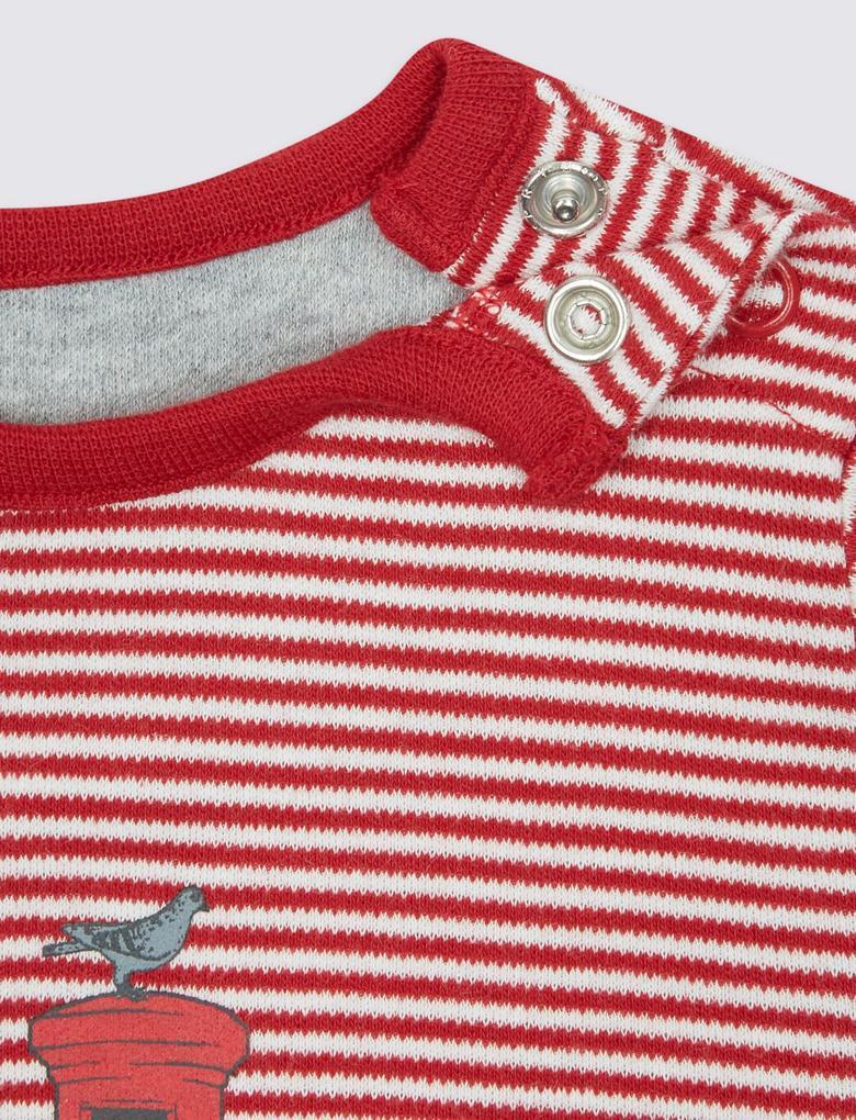 Paddington™ Saf Pamuklu Tulum Pijama