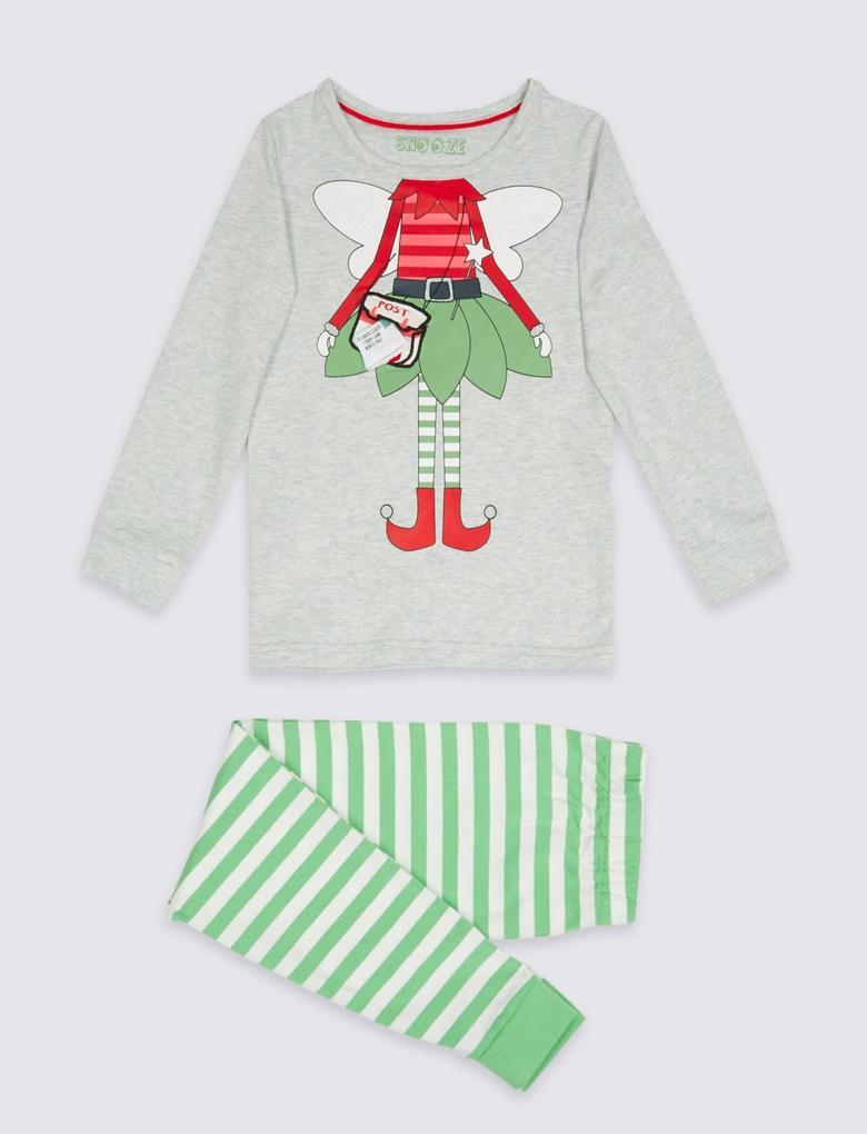Elf Pijama Takımı (9 Ay - 8 Yaş)