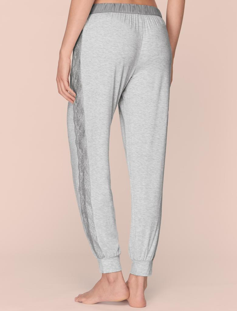 Dantel Kenarlı Pijama Altı