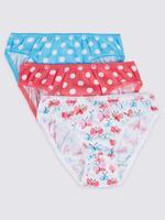5'li Saf Pamuklu Bikini Pantolon