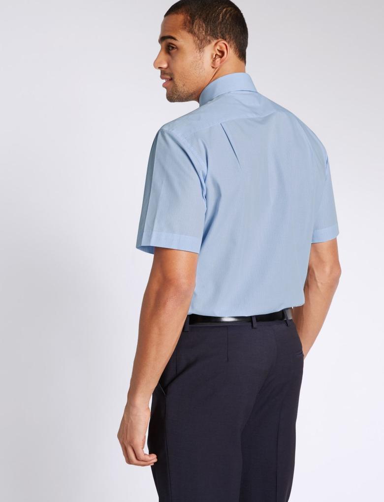 2'li Cepli Kolay Ütülenebilir Gömlek