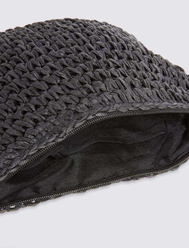 Askılı Hasır Çapraz Çanta