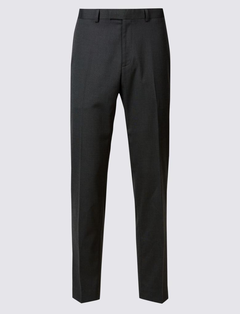 Kömür Rengi Modern Slim Pantolon