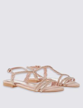 Burgulu Açık Ayakkabı (Insolia® Teknolojisi ile)