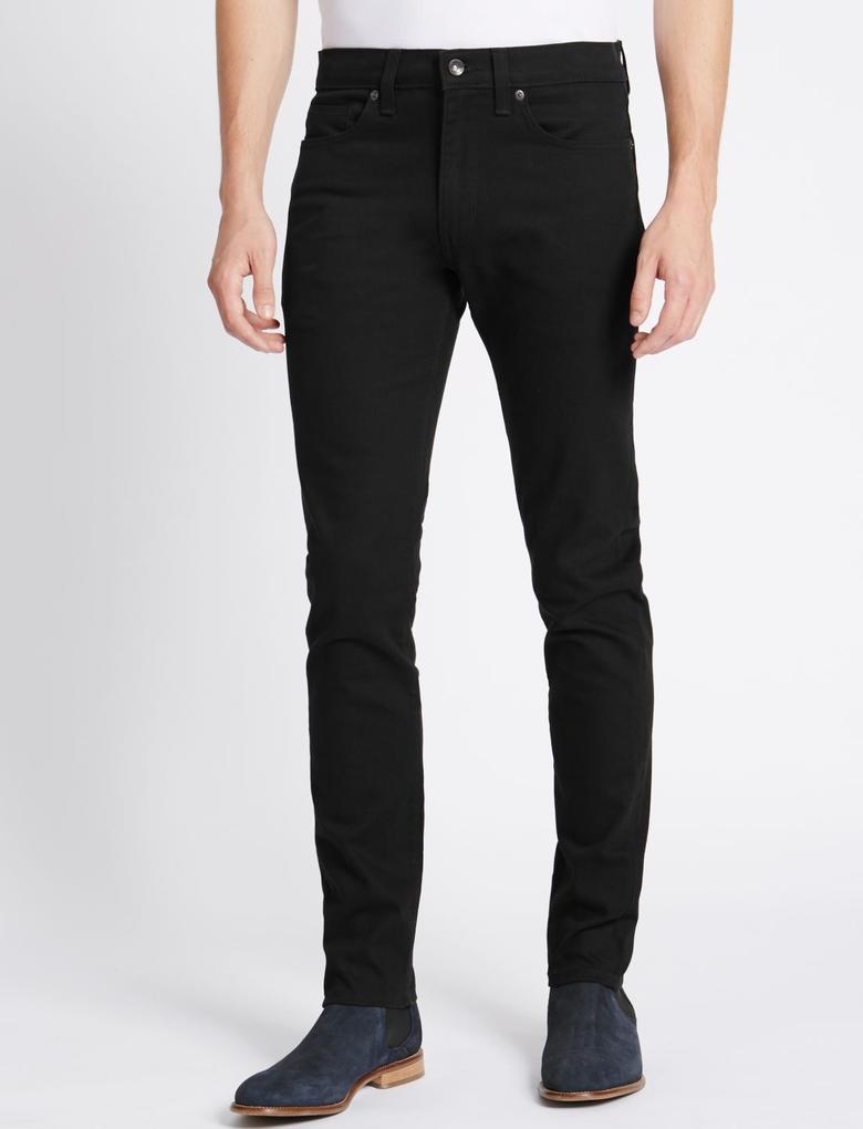 Skinny Fit Streç Denim Pantolon