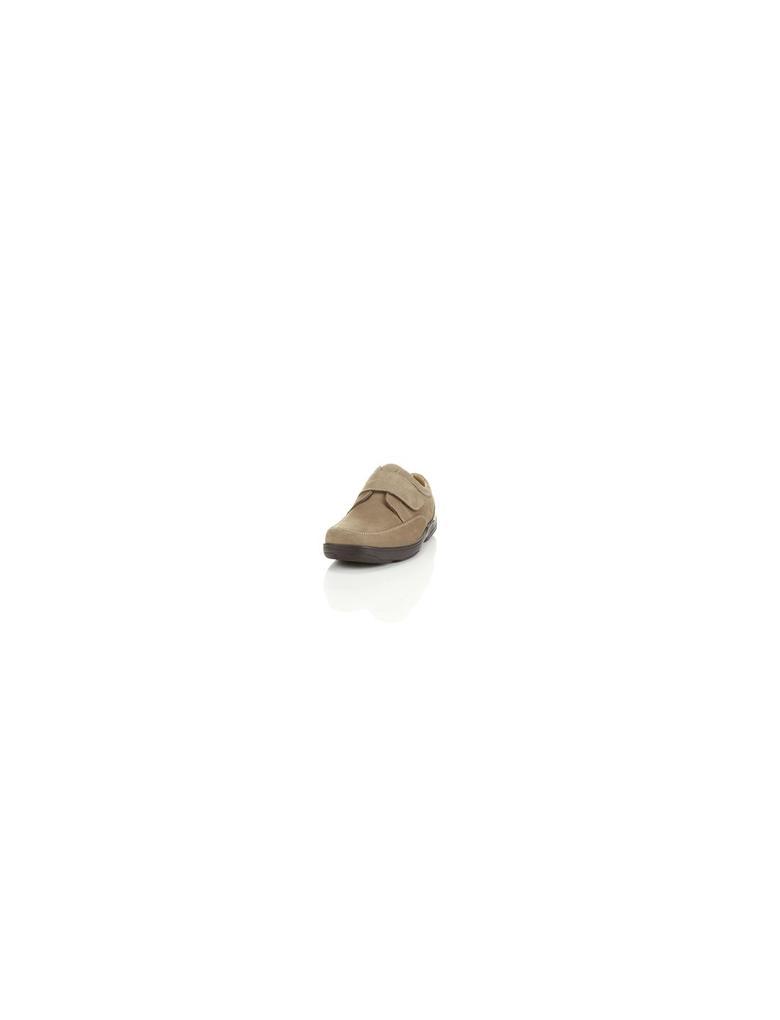 Geniş Kalıplı Deri Ayakkabı (Airflex™ Teknolojisi ile)