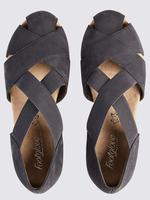 Lacivert Deri Açık Ayakkabı