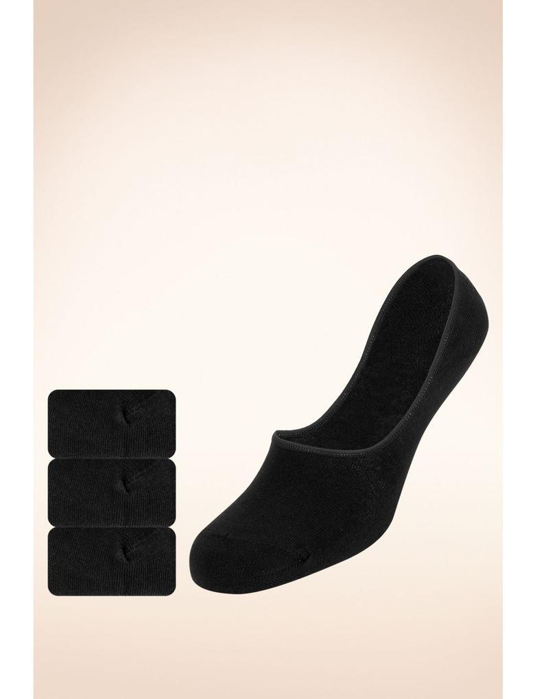 Siyah Görünmeyen Çorap