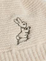 Erkek Çocuk Bej Peter Rabbit™ Bere ve Eldiven Takımı