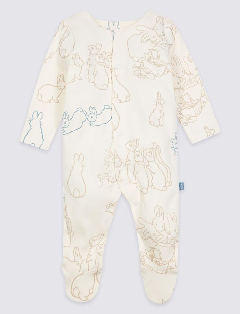 Peter Rabbit™ 2'li Saf Pamuklu Tukum Pijama