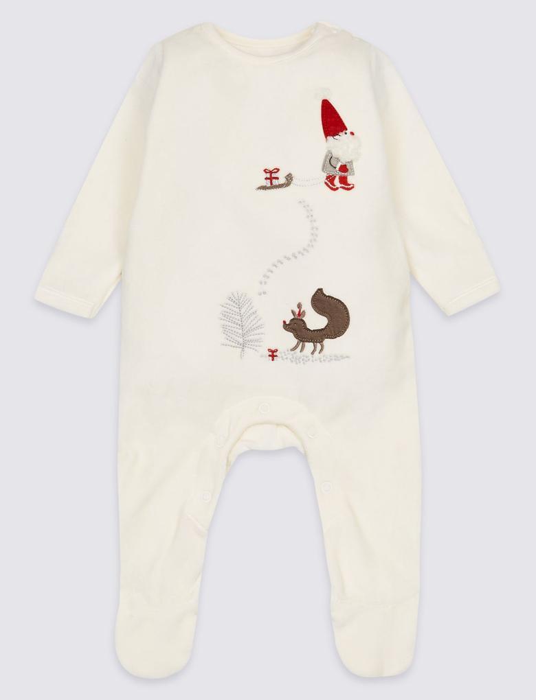Bej Pamuklu Tulum Pijama