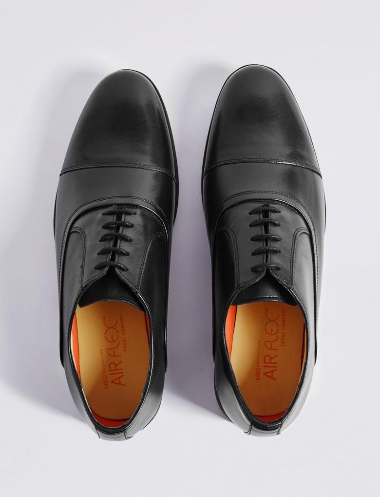 Deri Oxford Ayakkabı (Airflex™ Teknolojisi ile)