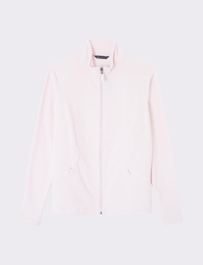 Kadın Pembe Polar Sweatshirt