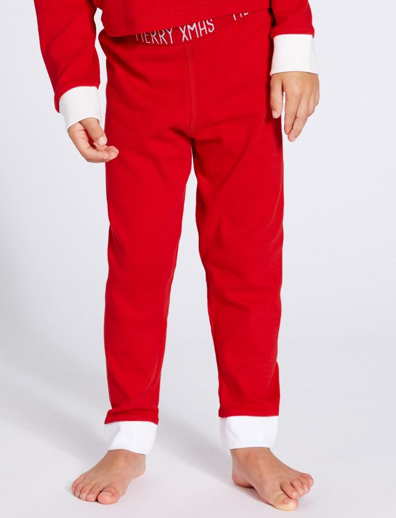 Saf Pamuklu Pijama