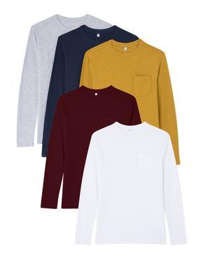 5'li Uzun Kollu T-Shirt