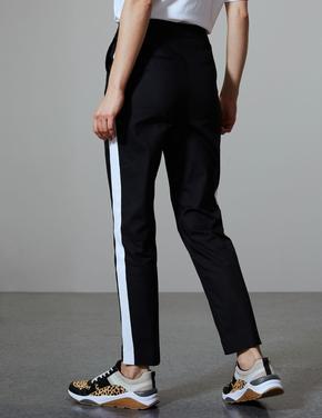 Yanları Çizgili Pantolon