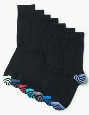 7'li Cool & Freshfeet™ Pamuklu Çorap Seti