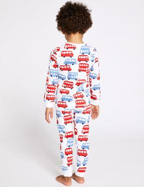 Pamuklu Streç Pijama Takımı