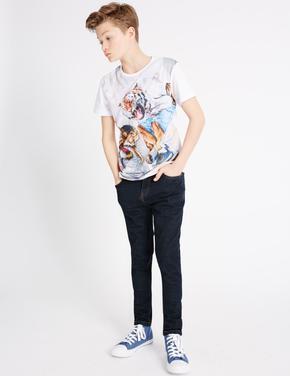 Skinny Leg Streç Jean Pantolon