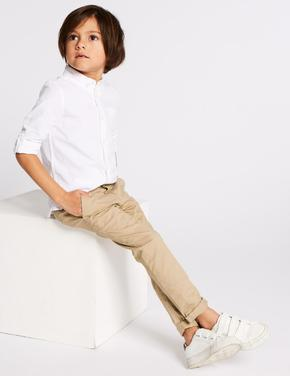 Pamuklu Streç Chino Pantolon