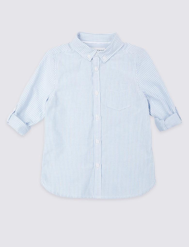 Saf Pamuklu Gömlek