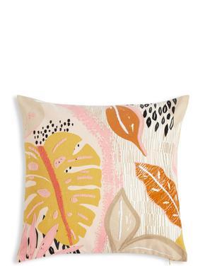 Yaprak Desenli Yastık