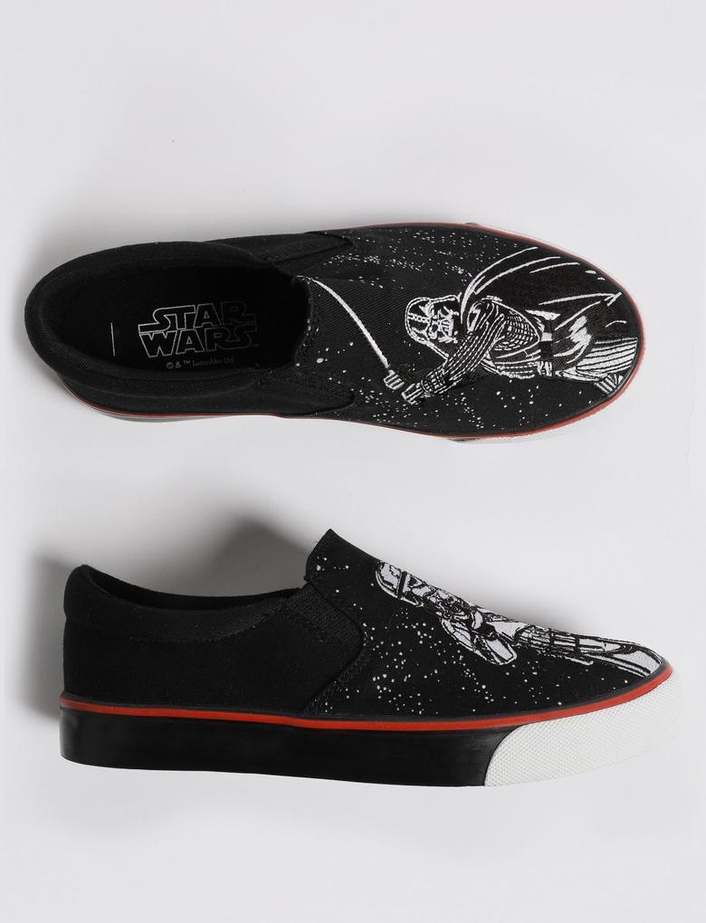 Erkek Çocuk Siyah Star Wars™ Spor Ayakkabı