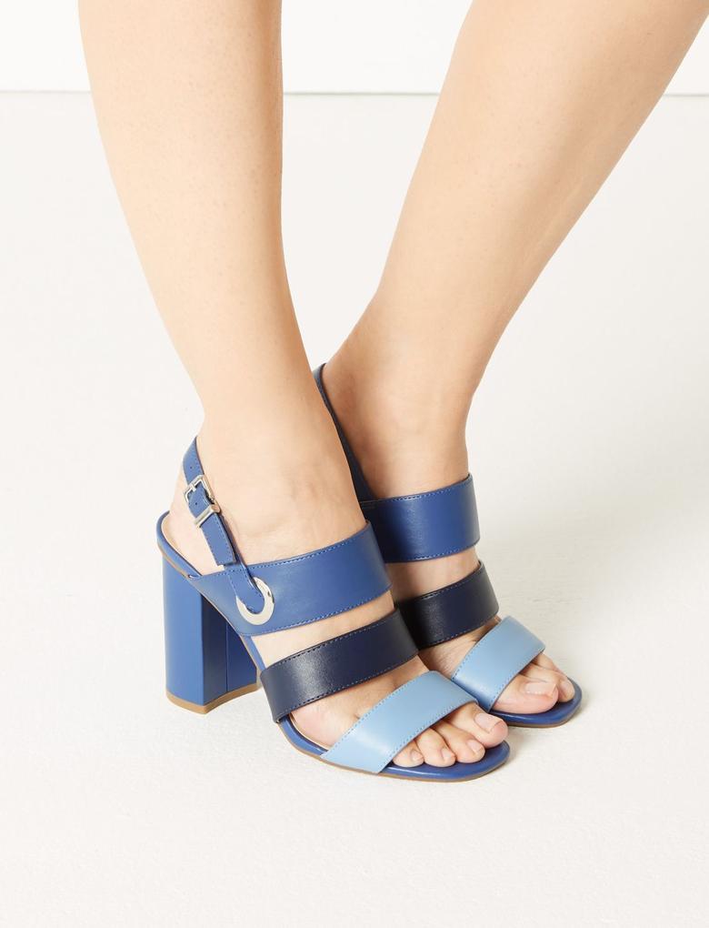 Kalın Topuklu Sandalet