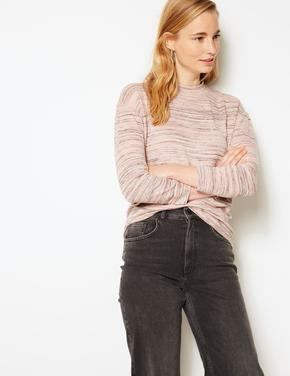 Uzun Kollu Sweatshirt Bluz
