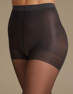 2'li 15 Denye Secret Slimming™ Parlak Toparlayıcı Özellikli Külotlu Çorap
