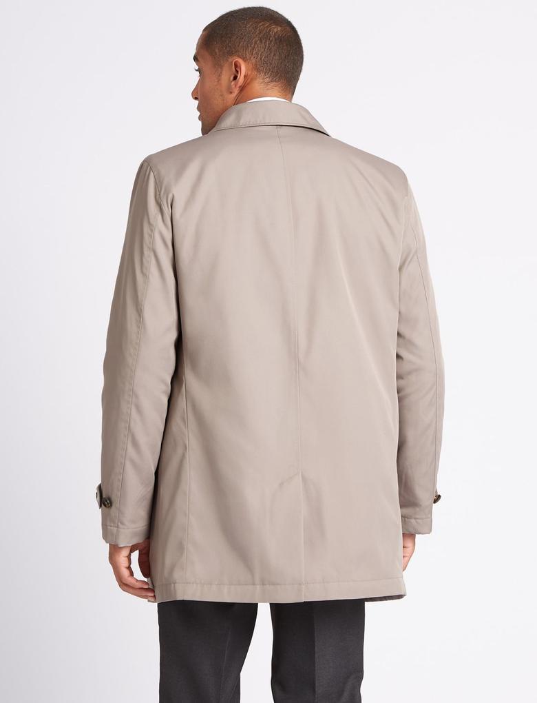 Kahverengi Kapüşonlu Yağmurluk (Stormwear™ Teknolojisi ile)