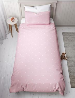 Flamingo Desenli Çift Taraflı Yatak Takımı