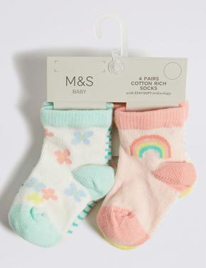 4 Çift Çorap