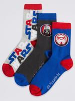 Multi Renk 3 Çift Star Wars™ Desenli Çorap