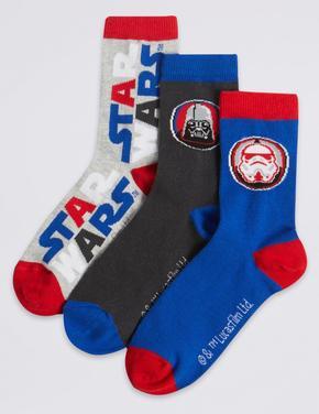 3 Çift Star Wars™ Desenli Çorap