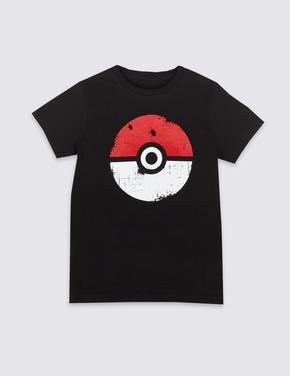 Pokemon™ Saf Pamuklu T-Shirt