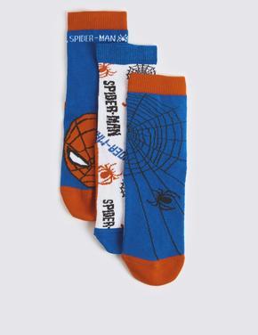 3 Çift Spider-Man™ Desenli Çorap