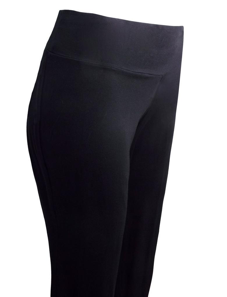 Kadın Siyah Jarse Dans Pantolonu