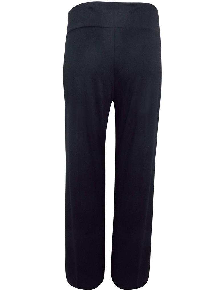 Siyah Jarse Dans Pantolonu