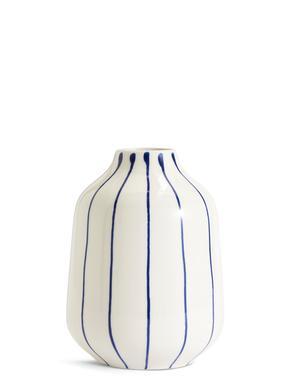 Çizgili Seramik Vazo