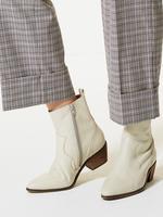 Ekose Wide Leg Pantolon