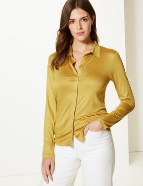 Uzun Kollu Gömlek
