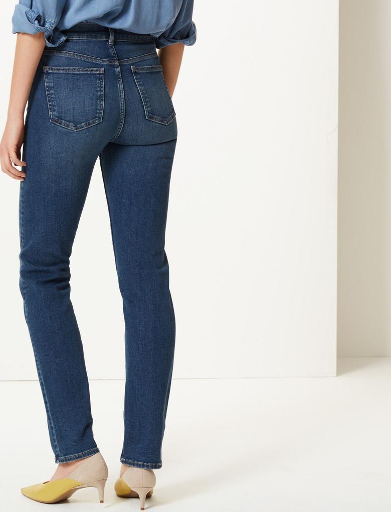 360 Contour Orta Belli Straight Leg Jean Pantolon